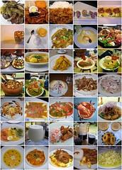 peruvian food mosaic