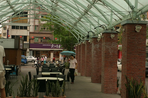 你拍攝的 湯圍溝公園:咖啡廳一角。