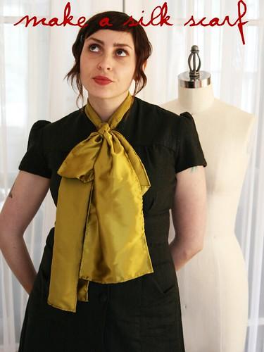 make a silk scarf