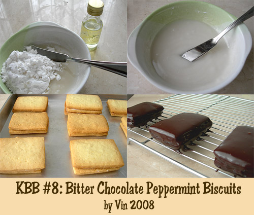 KBB #8 Bitter Choc Mint Biscuits