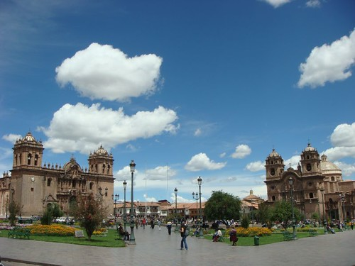 Plaza de Armas, Cusco - Peru.