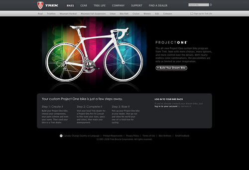 Build your dream (TREK) bike