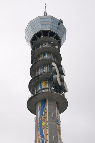 NRK Tyholt Tower by Fredrik Thommesen