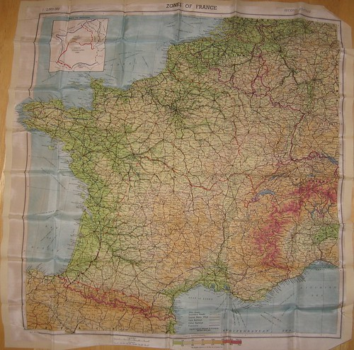 Map Of France Zones.Maps France 1944 Sean Gillies