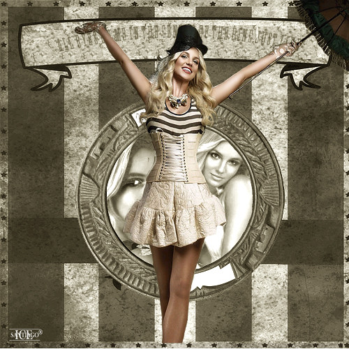 Britney Spears: Circus by SantiagoM.