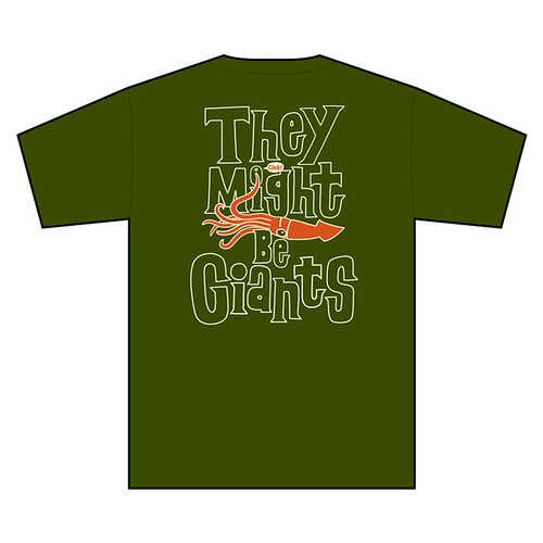 They Might Be Giants T shirt -back