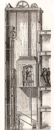 inventor del ascensor: