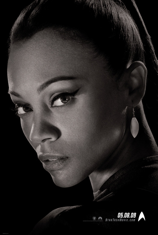 Star Trek Uhura character poster