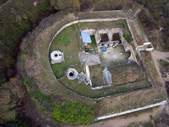 La Redoute - Merville-Franceville 16 (Fanny et Anthony (NonSenZ)) Tags: kite france photography aerial normandie kap fortification normandy calvados kiteaerialphotography vauban mervillefranceville photographiearienneparcerfvolant laredoutedemerville nonsenz alfp