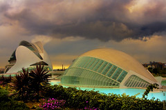 Beam up the mother ship (DJH Photography ( LRPS )) Tags: storm valencia cloudy hdr costablanca