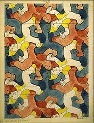 E21 (npgraphicdesign) Tags: symmetry escher tessellation mcescher