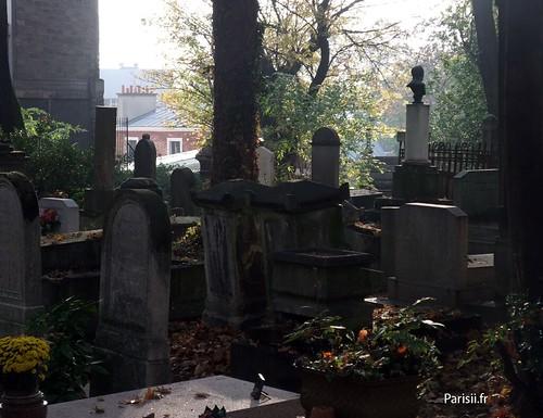 Atmosphère du cimetière...