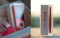 iPod nano ... (product)* (Saoud  back !) Tags: red 50mm photo ipod appel nano product saoud