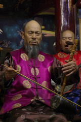 Ancient Naxi Music Ensemble - Lijiang (Ray Devlin) Tags: china musician musicians ancient asia traditional chinese flute peoples xuan ke ensemble lute plectrum zither peoplesrepublicofchina shawm chinesemusician xuanke oldmusician ancientnaximusicensemble