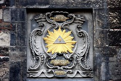 The Eye of Providence (wajahat.khan) Tags: canon germany eos europe pyramid dom aachen symbols 1785 40d