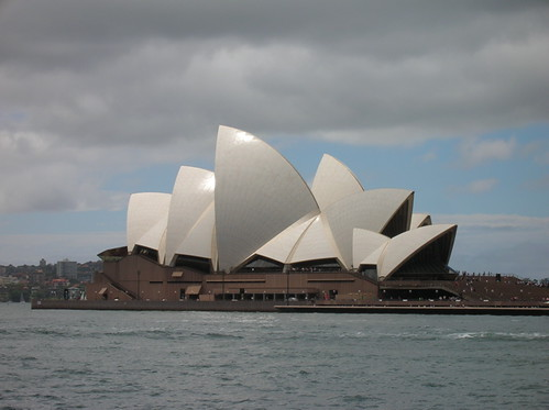 Sydney Opera House, photographed from The Rocks