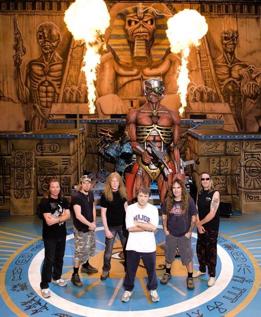 Iron Maiden. Divulgação