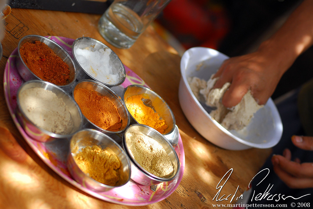 Cooking Thali at korim - Goa