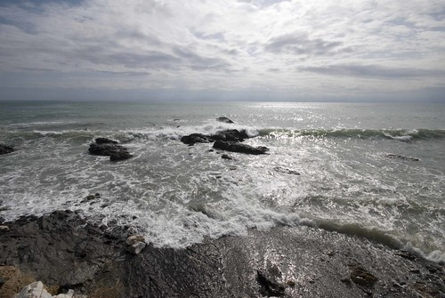 mar agitado antes