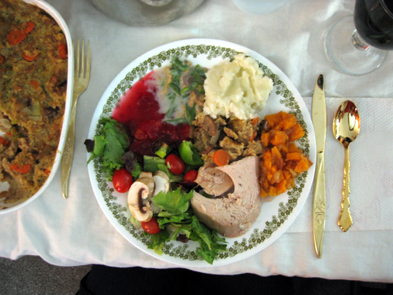 Thanksgiving Plate (Click to enlarge)