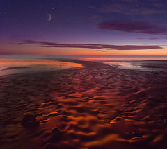 Starry Night On The Oregon Coast (kevin mcneal) Tags: bec boatislandpoetry