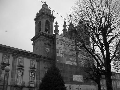 Igreja dos Congregados em Obras