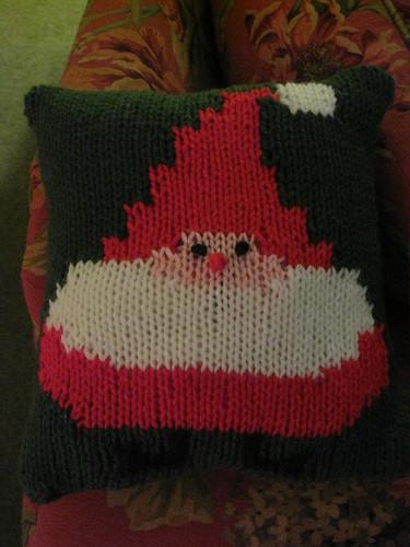 santa pillow 1 december 2008