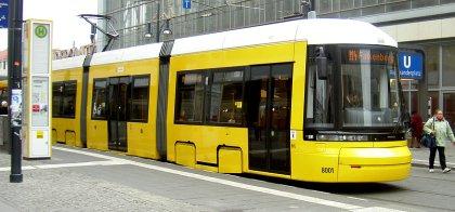 Neue Straßenbahn Berlin BVG