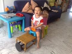 Isaac and his train