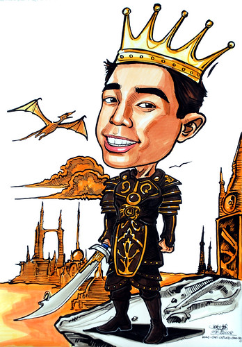 Caricature of the King