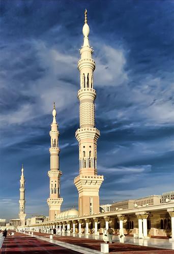 มัสยิดท่านศาสนทูตมุหัมมัด เมืองมะดีนะฮฺ ซาอุดิอาระเบีย