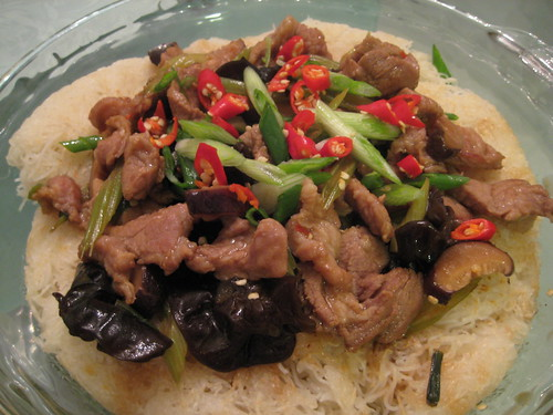Stir-fry Rice Vermicelli