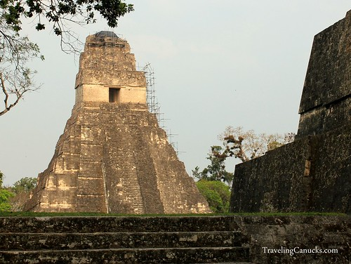 Mayan Pyramids in Tikal National Park