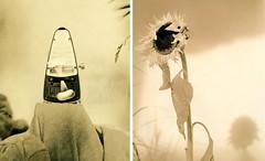 Presto - Largo / die Zeit ablichten (Spitting Doc) Tags: diptych kodak ikoflex lith agfa rapid favorit polychrome tessar autaut portriga bromesko tonkombinationendrfenaufrhren