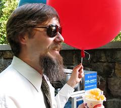 Proof of Beard #15 (pkingDesign) Tags: wedding snow beard cone balloon garibaldi snowcone