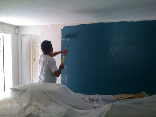Living room paint going up!