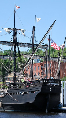 Aft of the Pinta