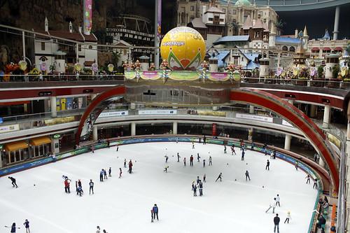 Lotte World: skating rink