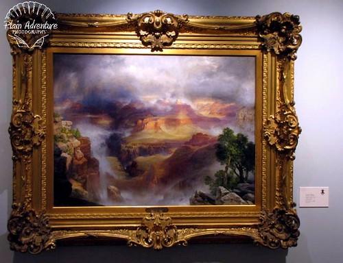 Thomas Moran Grand Canyon with watermark
