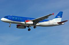 G-MIDP / Airbus A320-232 / 1732 / bmi British Midland (A.J. Carroll (Thanks for 1 million views!)) Tags: gmidp airbus a320232 1732 bmibritishmidland london heathrow lhr egll a320200 a320 320 v2527a5 staralliance qrcg 400973 27r
