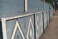 Diamond Street (Daniel4321) Tags: street sidewalk diamondpattern leadinglinesminoltax70035mmfilm