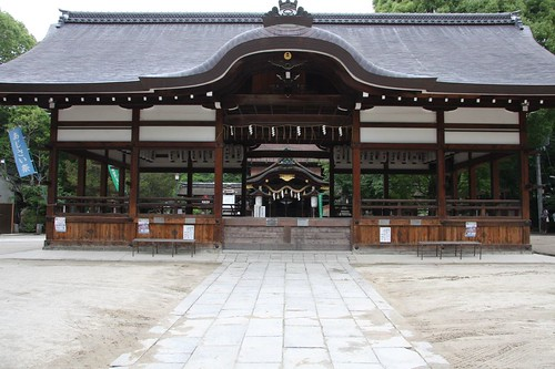 Impression of the Shinto shrine