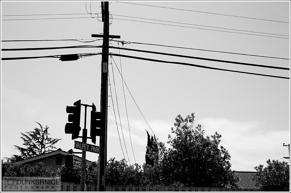 Corner B&W.
