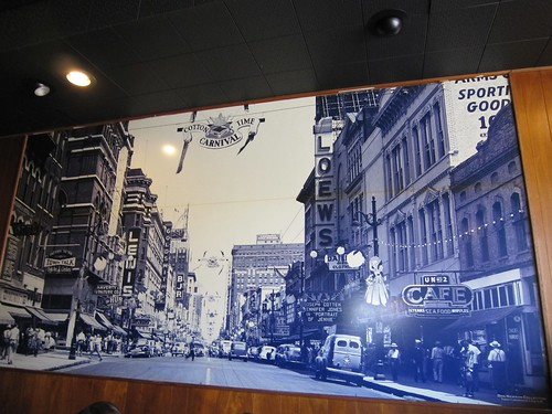 Arcade Restaurant Vintage Memphis Scene