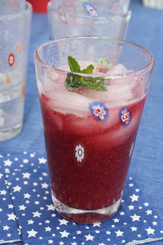 Cherry Mint Lemonade