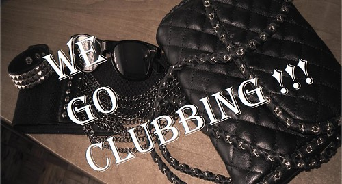 We go clubbing by MidnightAngels