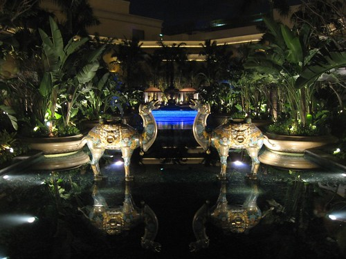 Pool at The Wynn