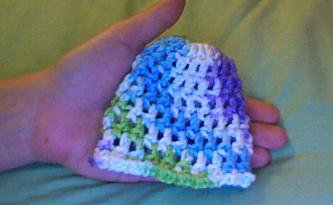 Ravelry Teresas 10 Minute Crochet Preemie Hat Pattern By Teresa Bowman
