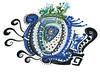 blue vision - ブルービジョン (Camille Hart) Tags: new blue color colour eye art love beauty azul pattern power symbol magic abril dream fortune mexican vision zen lovely lucid monada azzurro magia アート mysticism monad monism monismo magicpower newmexicanart hintonjennie モナド 魔法の力 ブルービジョン