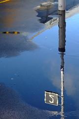 After The Rain - Part 4 (ljcybergal) Tags: uk storm london wet rain station weather puddle march platform lewisham gale 2008 100308
